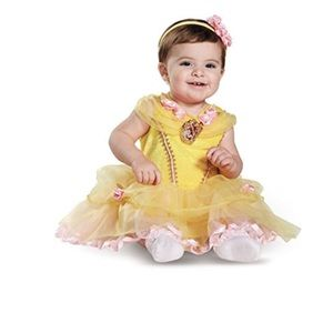 Disney Baby Belle Infant Costume Size 12-18 Months